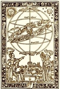 Astrologer at Work - Mediaeval Style!