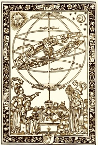 Astrologer at Work - Mediaeval Style!