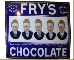 Fry's Five Boys chocolate - once the most famous confectionery bar in the world