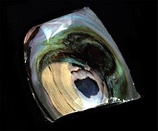 Beautiful Rainbow Obsidian