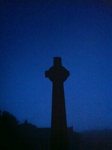 Iona Cross, Full Moon, August 21 2013