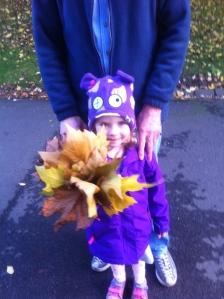Autumn Fairy with bouquet