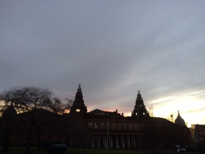 Evening - Kelvin Hall Glasgow