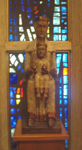 Dark Madonna at the chapel of The Episcopal Center in New York City. Photo by Jamie Walters, 2010.
