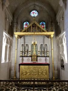 Gilded Altar, Buckfast Abbey, UK