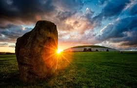 Standing Stone at Samhain