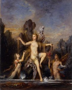 Gustave Moreau: Venus Rising from the Sea